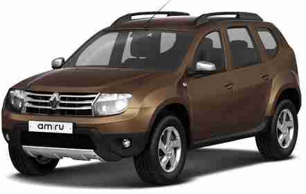 Renault Duster I (Рено Дастер) 2010-2015