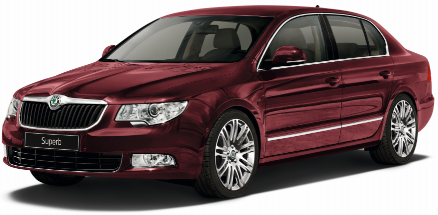 Skoda Superb II лифтбек (B6) (Шкода Суперб В6) 2008-2015