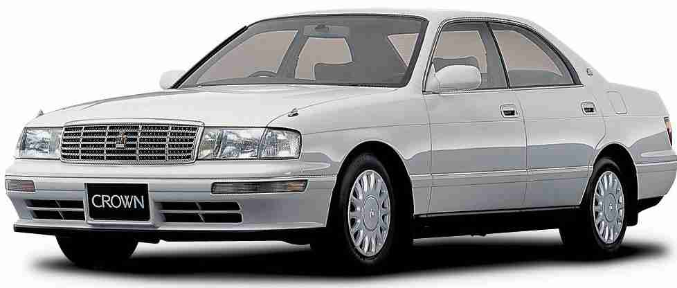 Toyota Crown IX правый руль (S140) (Тойота Краун С140) 1991-1995