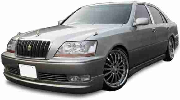 Toyota Crown Majesta III правый руль (S170 2WD) (Тойота Краун Маджеста С170) 1999-2003