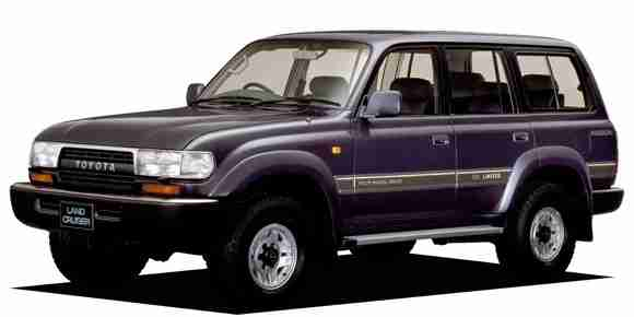 Toyota Land Cruiser IX  правый руль (J80G limited active vacation) (Тойота Ленд Крузер 80) 1989-1997