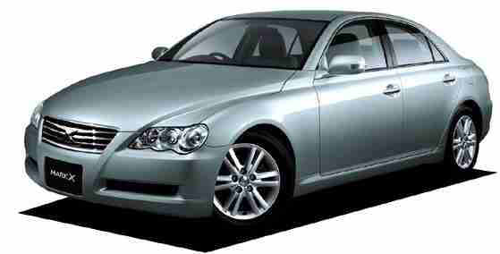 Toyota Mark X I правый руль 2WD (X120) (Тойота Марк Х Х120) 2004-2009