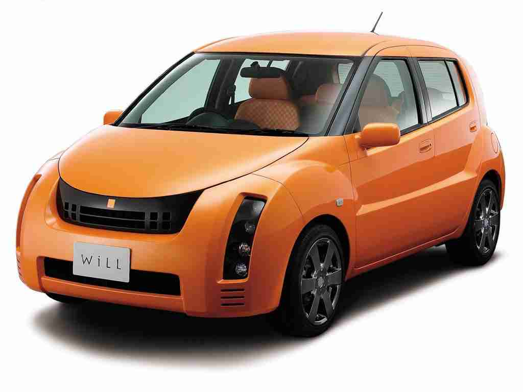 Toyota WiLL Cypha I правый руль (XP70) (Тойота Вилл Чупа ХР70) 2002-2005
